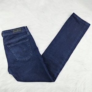 AG | The Stilt Cigarette Leg dark wash jeans